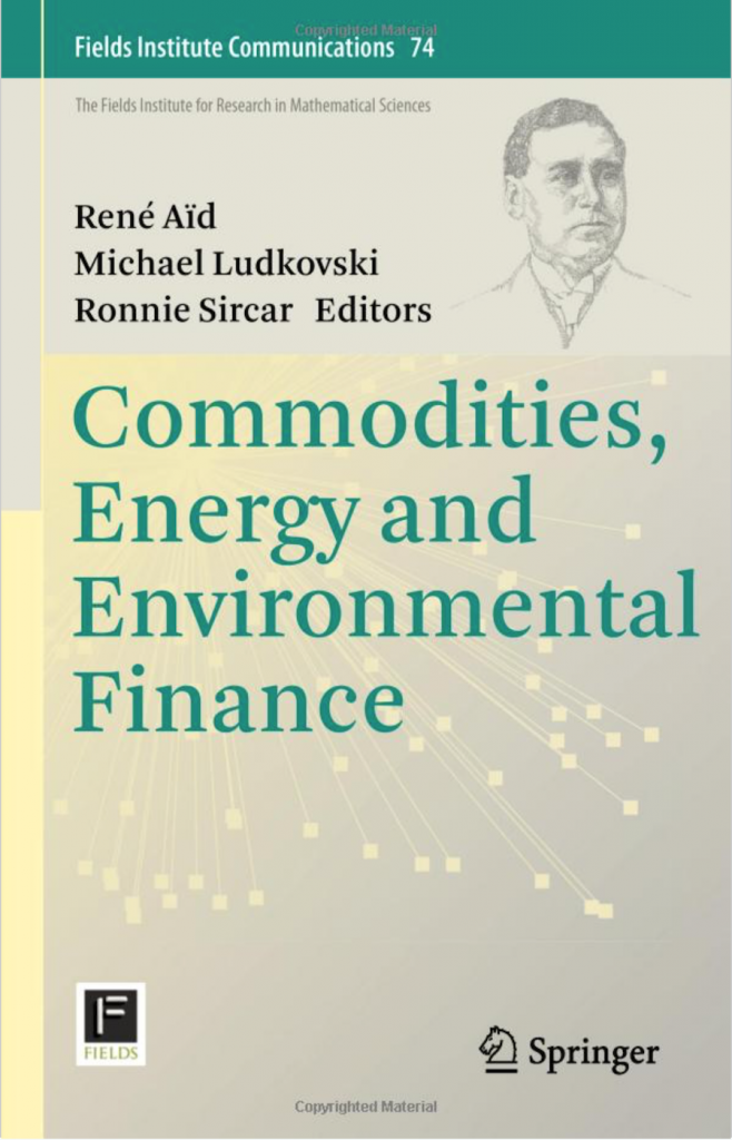 Commodities, Energy, and Environmental Finance